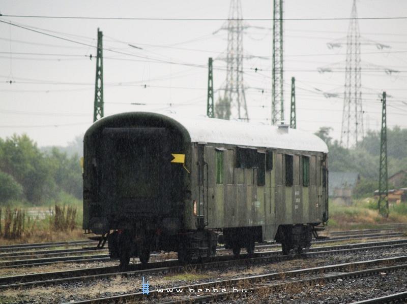 PFT lakókocsi Óbudán fotó