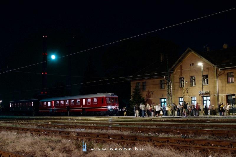 A Rába-Balaton motorkocsi Óbuda állomáson fotó