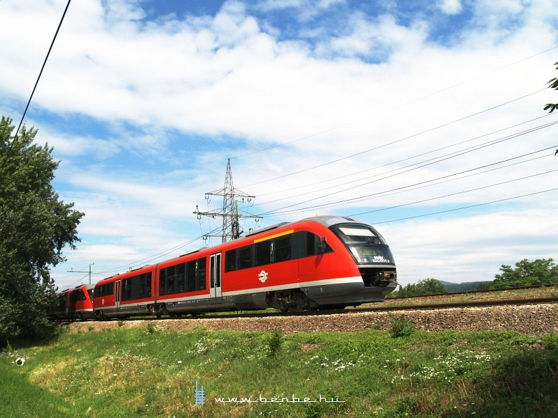 The 6342 011-1 between Óbuda and Aquincum junction photo