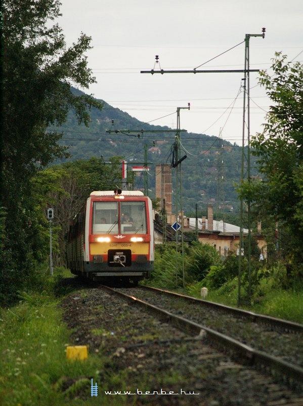 6341 005-4 Óbuda és Aquincum elágazás között fotó