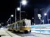 A 4107 pályaszámú T5C5-ös a Bécsi útnál