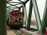 The final measurements on �jpest Railway Bridge with M44 428