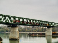 The final measurements on Újpest Railway Bridge with M44 428