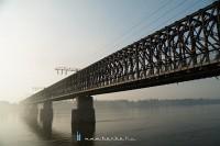 Közeli portré a régi hídról