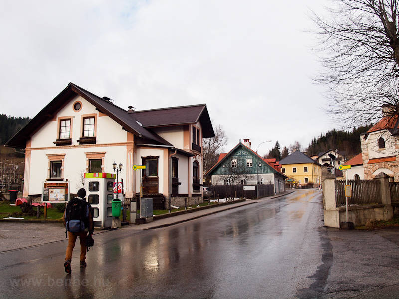 Mitterbach village at the f photo
