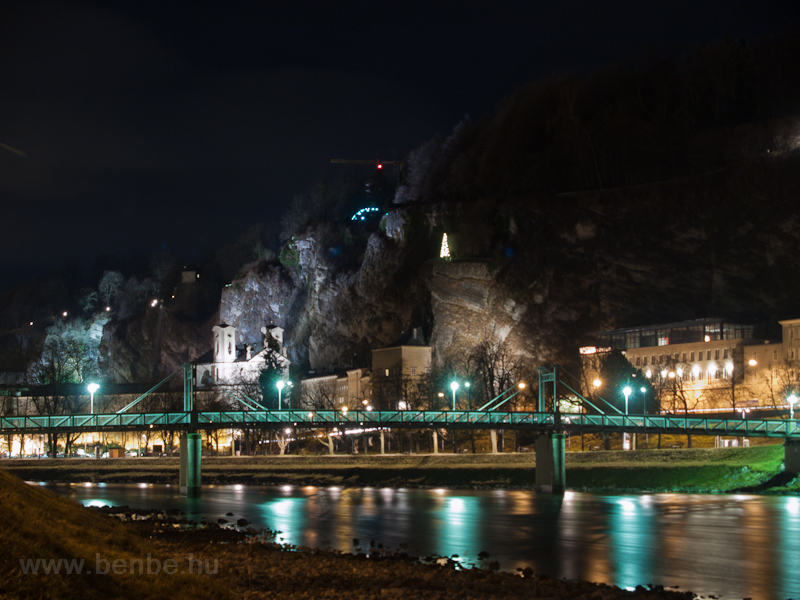 Salzburg by night photo