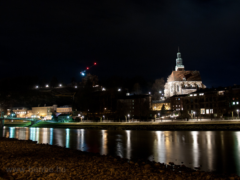 Salzburg by night picture