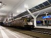 The MÁV-TR 470 010 <q>Aranycsapat</q> Taurus seen at the beautiful Salzburg Hauptbahnhof