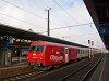 Az ÖBB 80-73 043-6 pályaszámú vezérlőkocsi Bischofshofenben