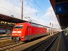 The DB 101 021-4 seen at Bischofshofen
