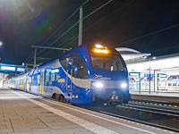 A Meridian ET307-es motorvonata Salzburg Hauptbahnhof állomáson
