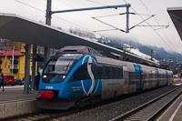 The ÖBB/S-Bahn Steiermark 4024 120-0 Talent seen at Schladming