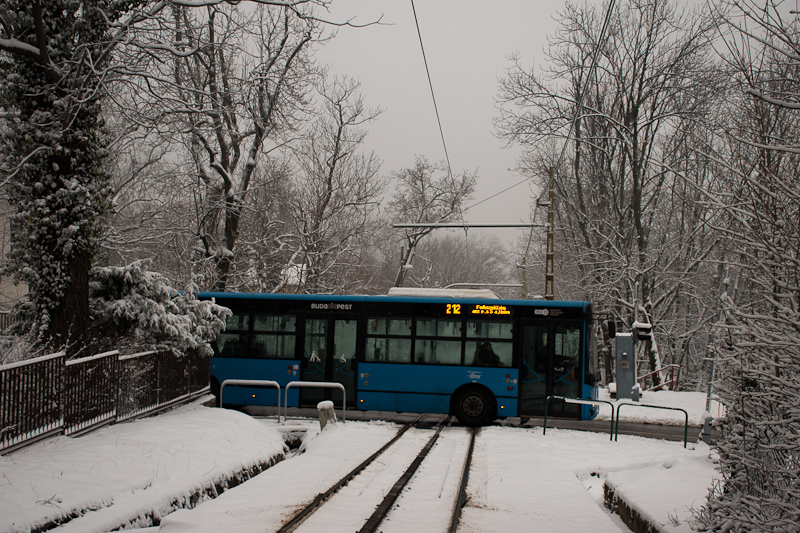 The BKK 212  seen at Városk photo