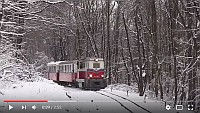 [VIDEO] Class Mk45 diesel locomotives in the snow on the Children's Railway