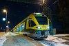 A GYSEV 415 500 Ják-Balogunyom állomáson