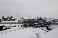 A HŽ 6 111 022 Károlyváros és Karlovac Centar között