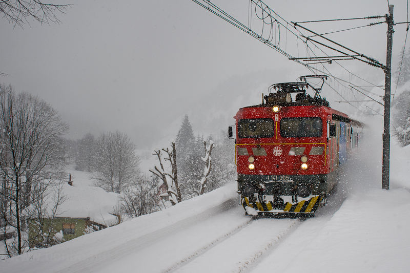 The HŽ 1 141 305 seen  picture
