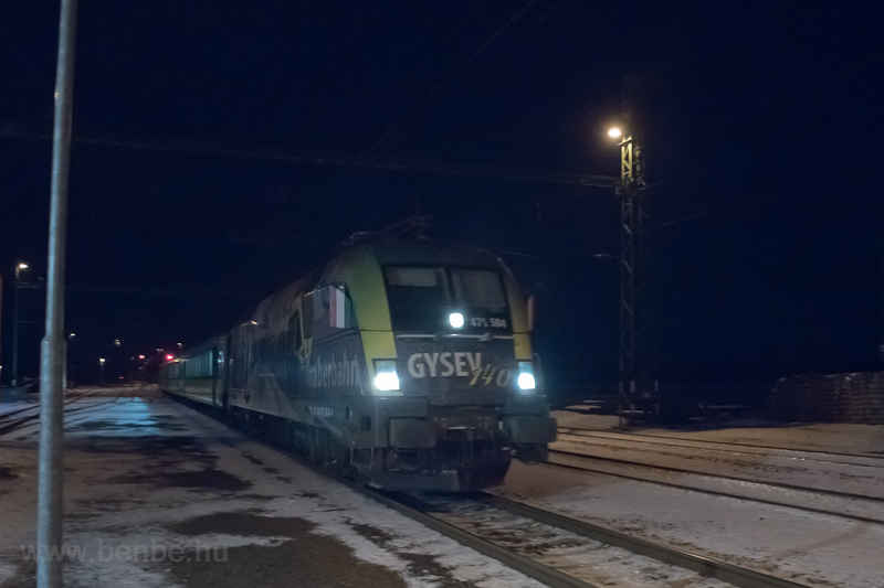 The GYSEV 470 504 seen at J photo