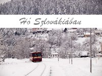 Hó Szlovákiában