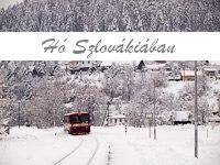 Snow in Slovakia