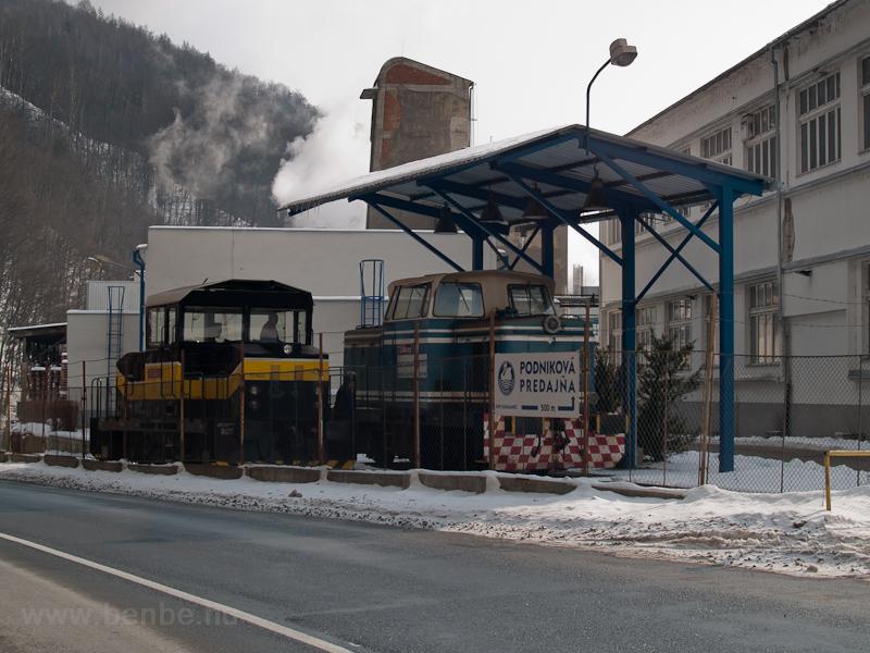 A hermándi papírgyár dízelmozdonyai (Harmanec, Szlovákia) fotó