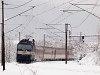 A ŽSSK 362 015-8 kanyarodik ki Kassára tartó gyorsvonatával Margitfalváról