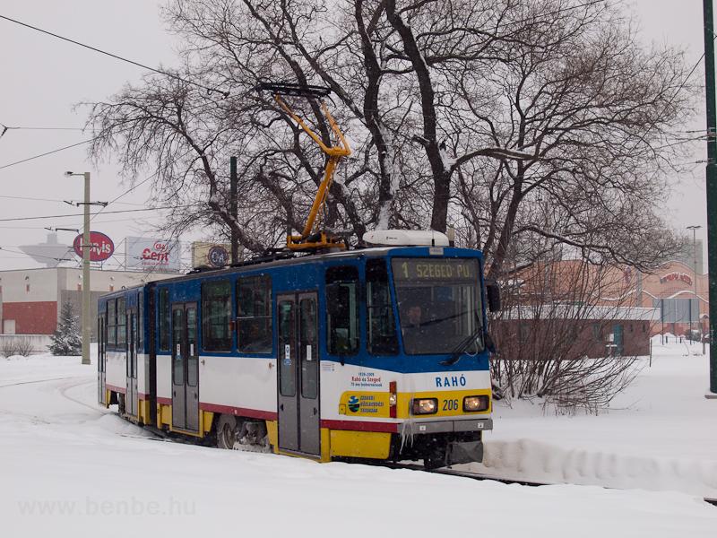 Az SZKV 206 pályaszámú, Tat fotó
