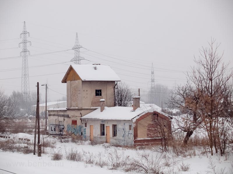 Vízház Szeged-Rókus állomás fotó