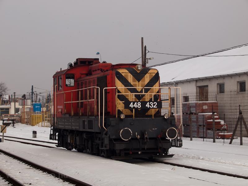 A MÁV-TR 448 432 Kispesten fotó