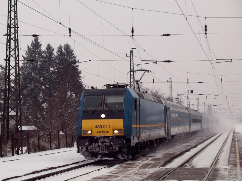 A MÁV-TR 480 011 Isaszegen fotó