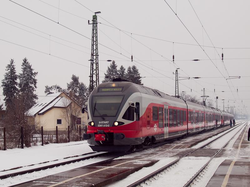 A MÁV-START 5341 013-0 Isaszegen fotó