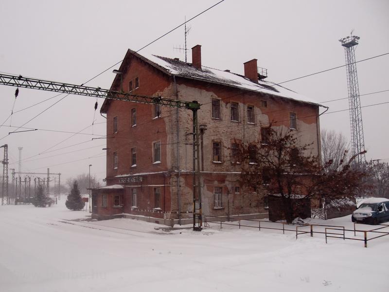 Szeged rendező állomás fotó