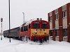 The MÁV-TR 418 115 seen at Algyő station