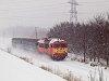 The MÁV-TR 418 115 seen between Szeged-Rókus and Algyő