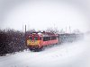 The MÁV-TR 418 198 seen between Algyő and Szeged-Rókus and Algyő