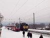 A MÁV-START 5341 040-4 és a MÁV-TR 431 151 Isaszegen