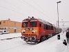 The MÁV-TR 418 128 seen at Szeged személy (passenger) station