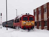 A MÁV-TR 418 115 Algyőn