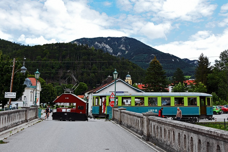 The Höllentalbahn  EI  seen picture