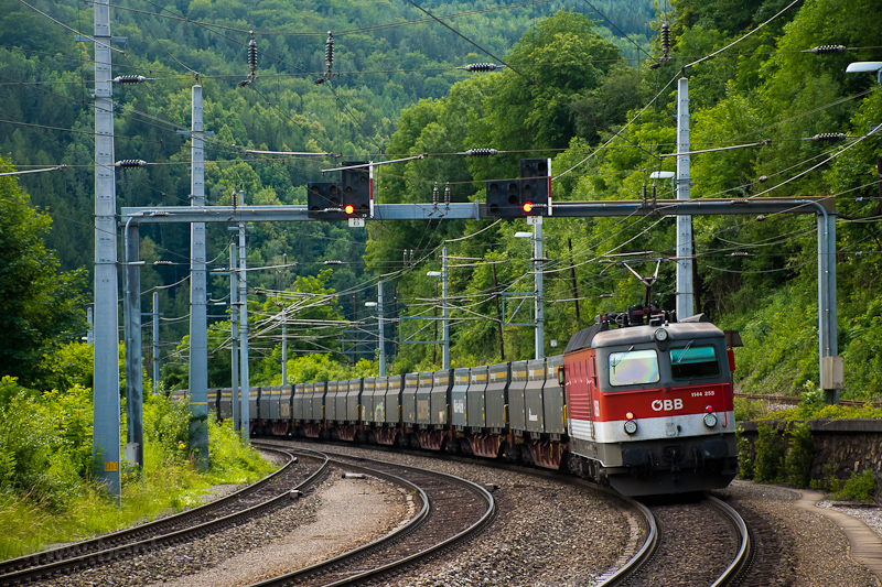 The ÖBB 1144 255 are seen a picture