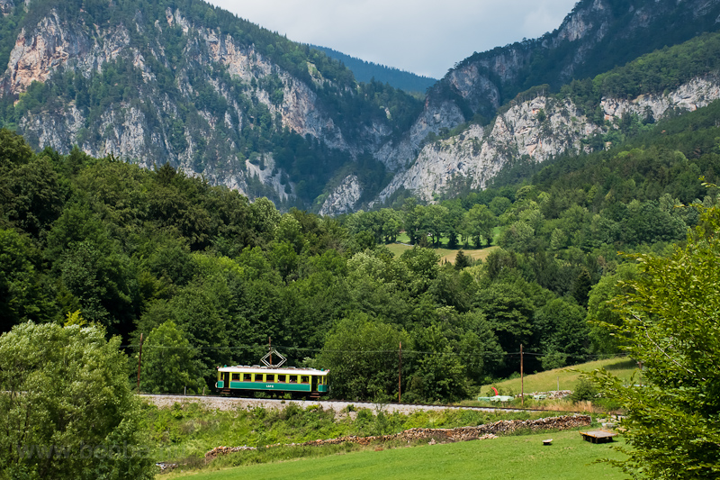 The Höllentalbahn TW 1 seen picture