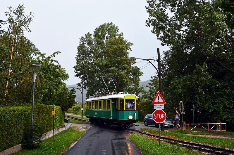 The Höllentalbahn TW 1 seen photo