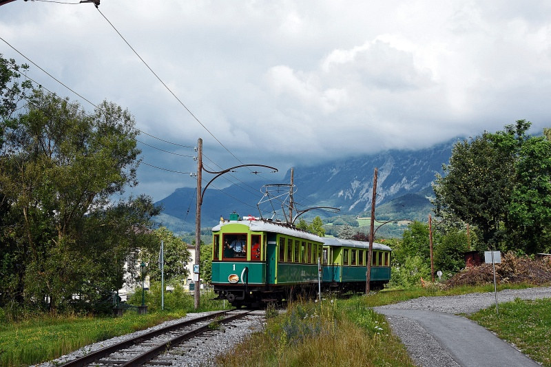 The Höllentalbahn TW1 seen  picture