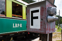 L.B.P.-H., that is: Lokal Bahn Payerbach - Reichenau, the original name of the Höllentalbahn