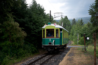 The Höllentalbahn TW 1 seen at Kurhaus stop