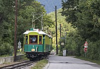 The Höllentalbahn TW 1 seen between Haaberg and Reichenau