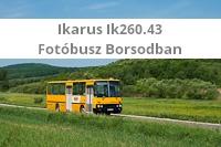 Ikarus 260.43-mal Borsodban