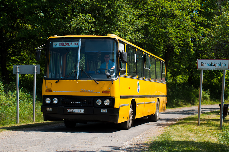 The ÉMKK/Borsodvolán Ikarus 260.43 CCJ-148 seen at Tornakápolna photo