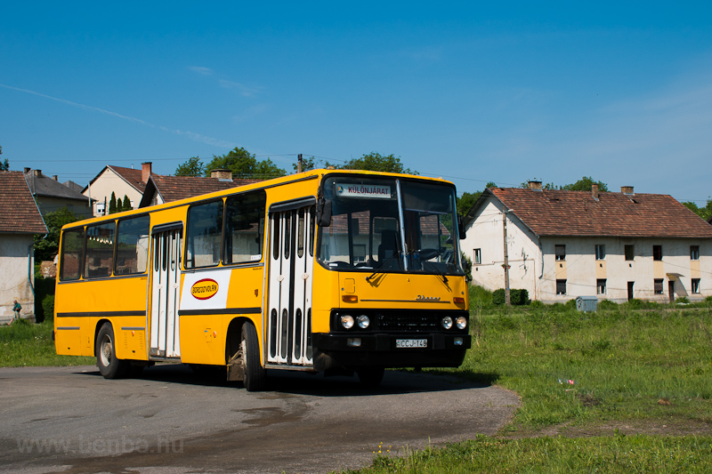 The ÉMKK Ikarus 260.43 CCJ-148 seen at Rudabánya photo