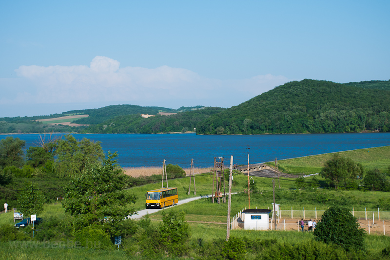 The ÉMKK/Borsodvolán Ikarus 260.43 CCJ-148 seen near Rakaca-reservoir photo